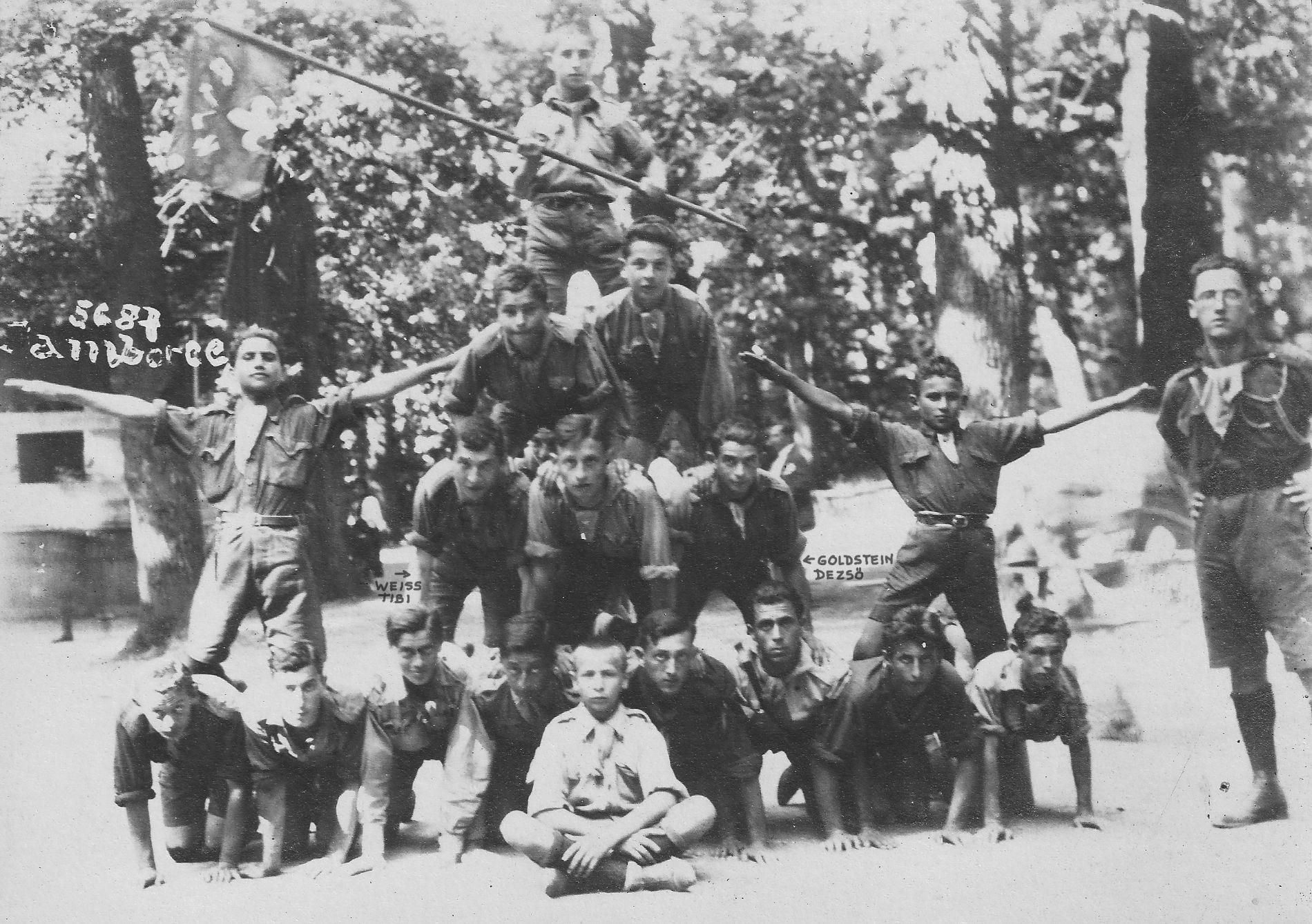 Kadiş tardiv în memoria cercetaşilor martiri timişoreni. De Tibor Weiss