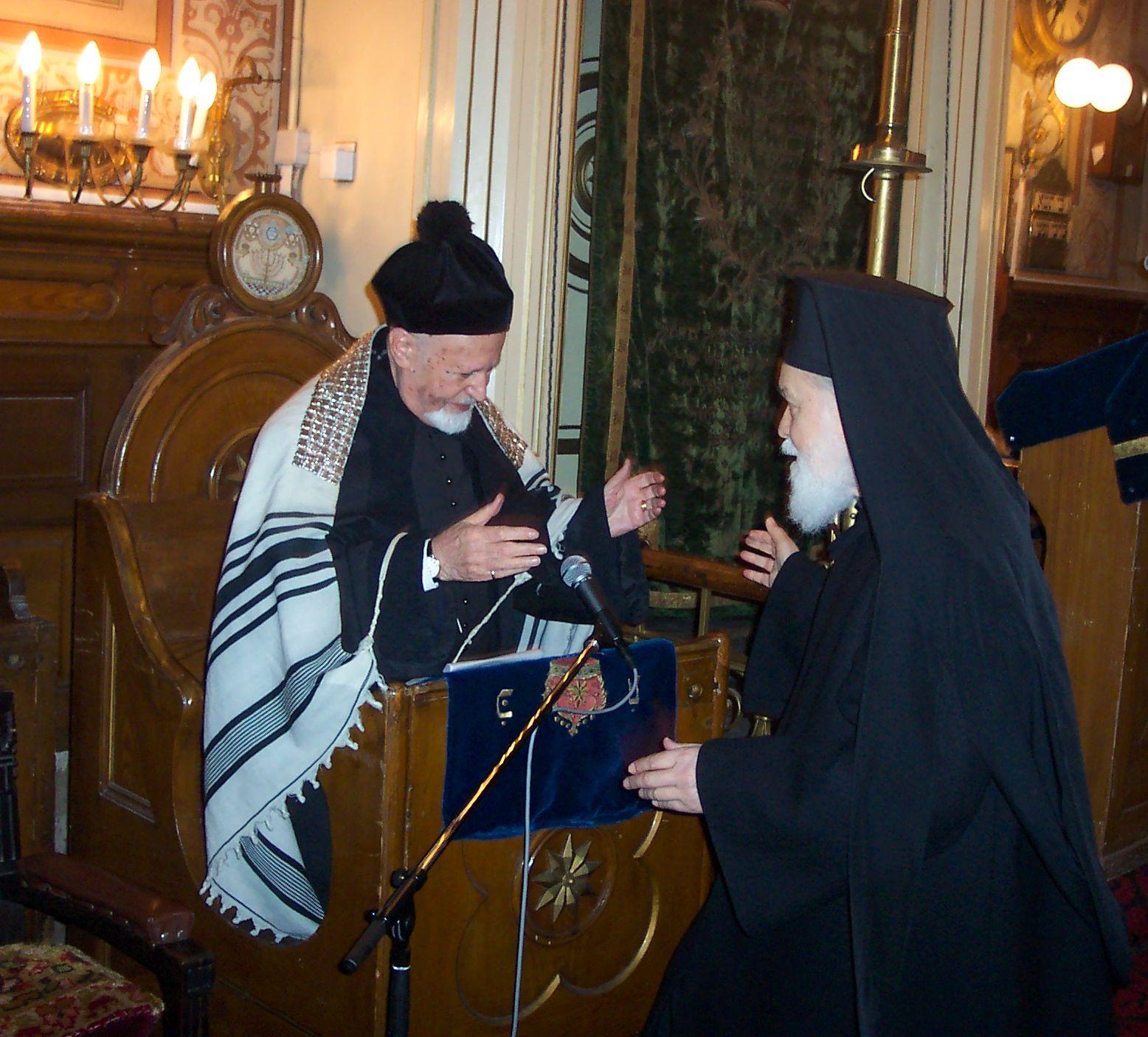Un Rabin și un Mitropolit – Prieteni buni