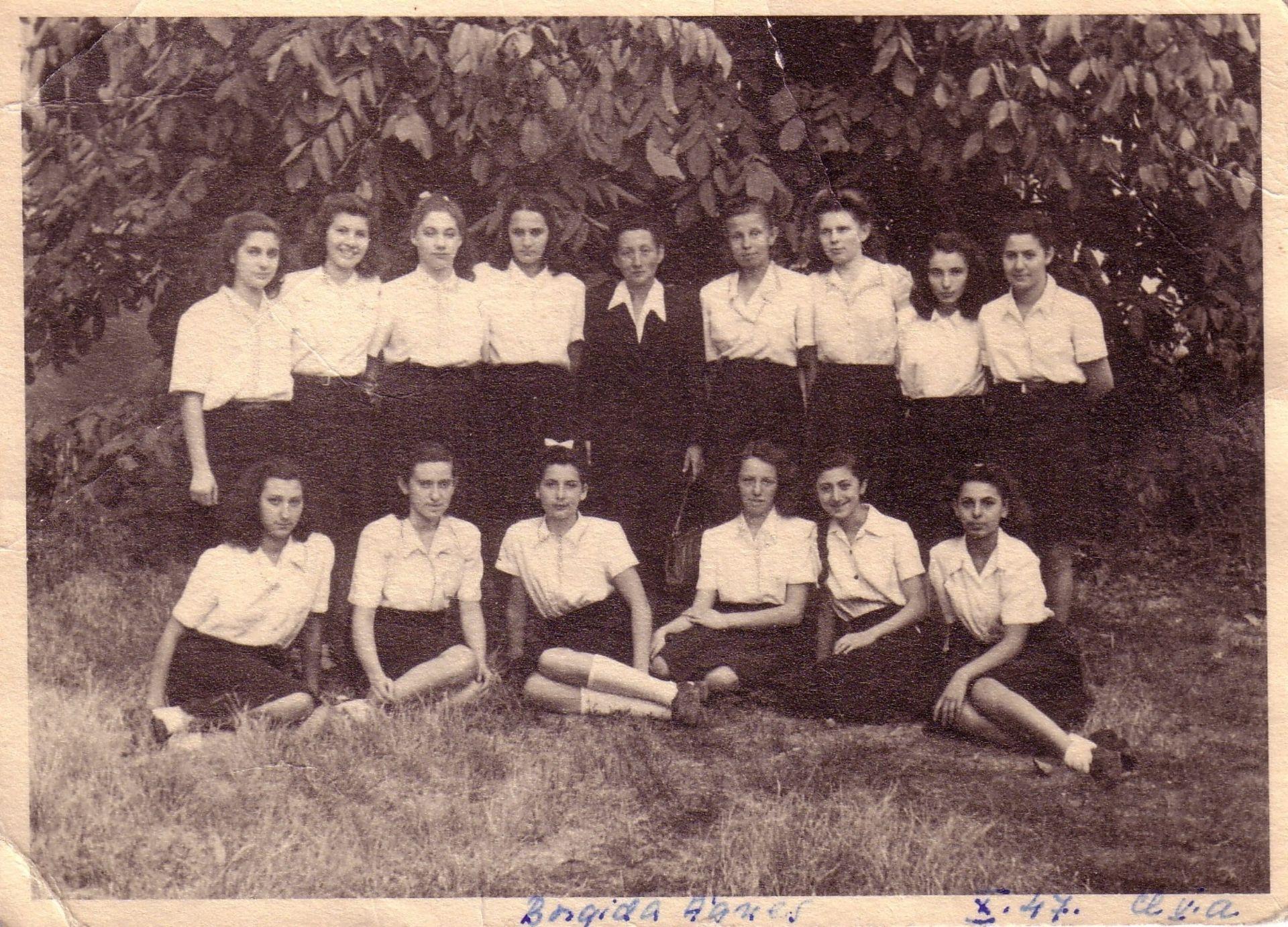 Liceul de Fete. 1947