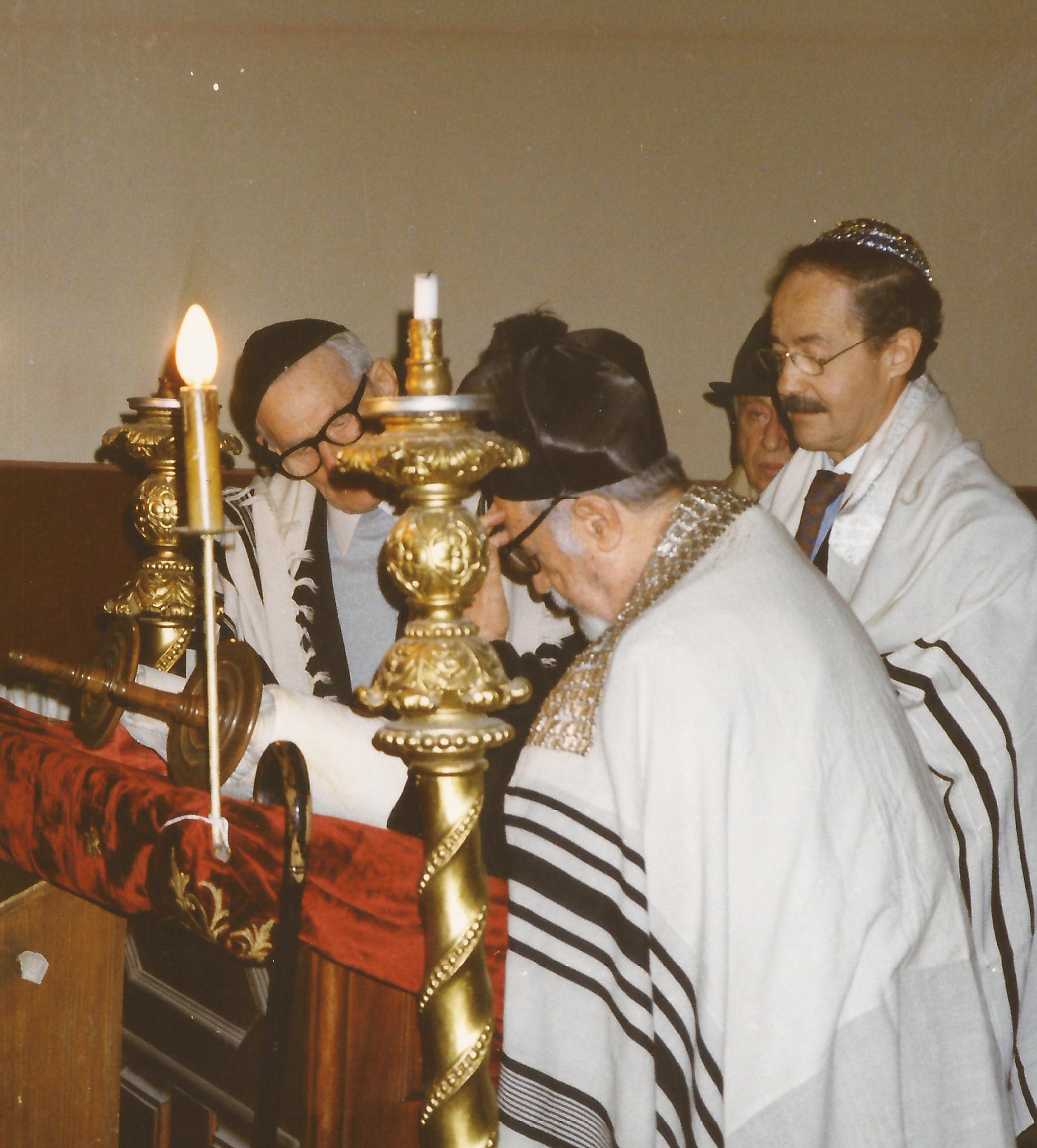 Lăcaşul de rugăciune din curtea Sinagogii din Fabric