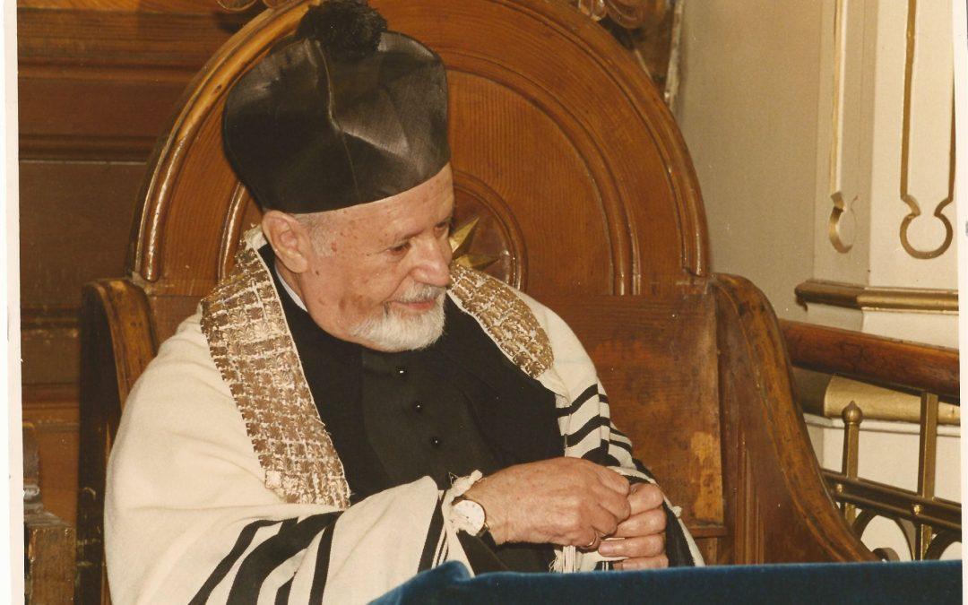 O seară de amintire în memoria rabinului Ernest Neumann