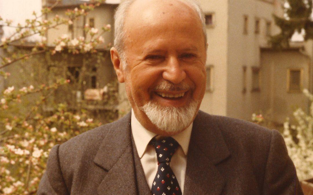Rabinul şi profesorul Ernest Neumann şi livada de pomi